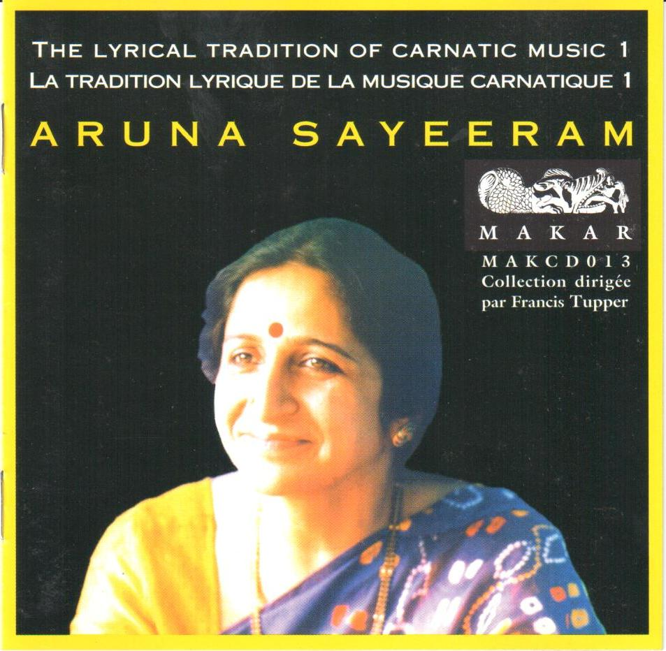 The Lyrical Tradition of Carnatic Music
