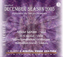 Album of Aruna Sairam - Chennai December Season 2005