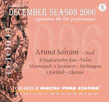 Album of Aruna Sairam - Chennai December Season 2006