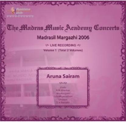 Madrasil Margazhi 2006 - The Music Academy Concerts