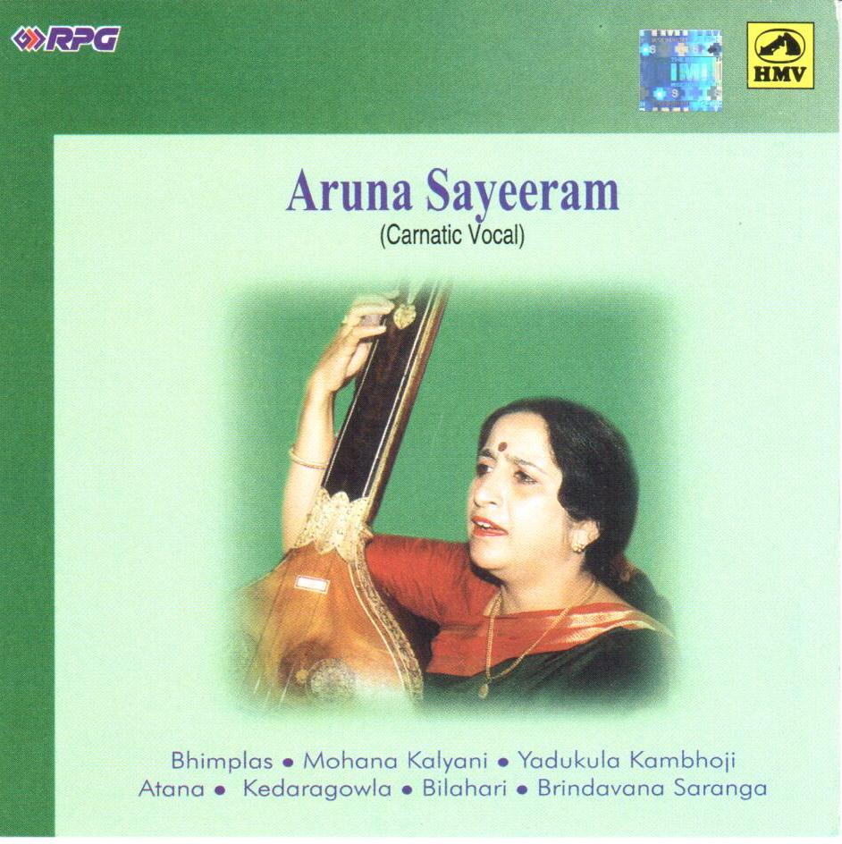 Album of Aruna Sairam - Aruna Sairam Carnatic Vocal