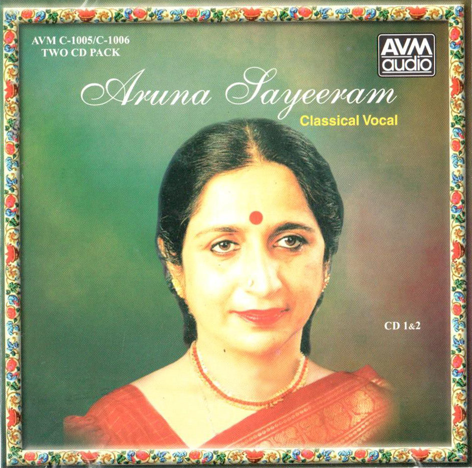 Aruna Sairam Classical Vocal - 2 CD Pack