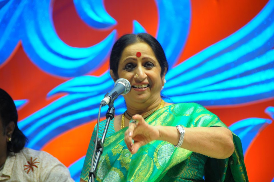 Concert of Aruna Sairam - Indira Sivasailam Award and Concert