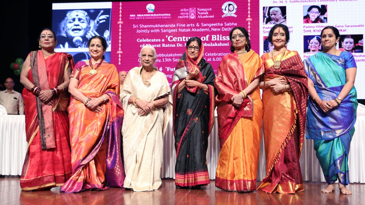 Subbulakshmi awards for seven women artistes
