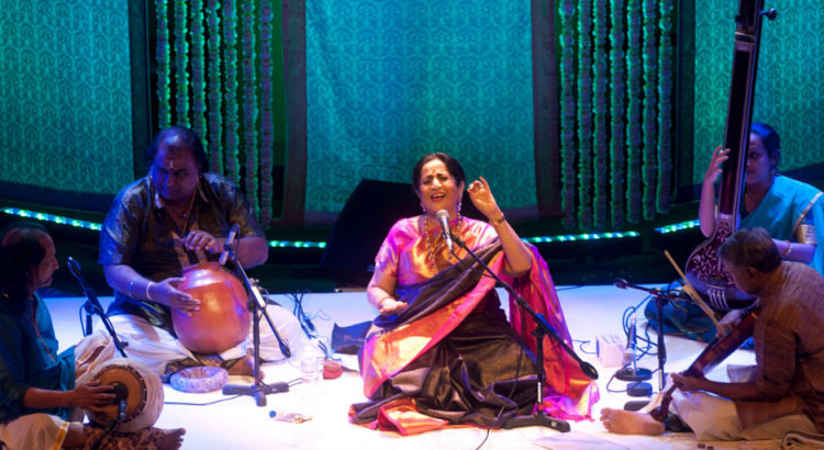 Aruna Sairam performing at NCPA Bandish 2019, Mumbai
